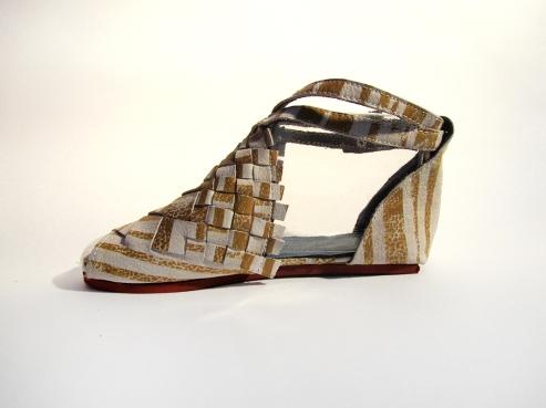 Shoe yellow