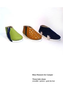 Camper Assignment shoes for kids